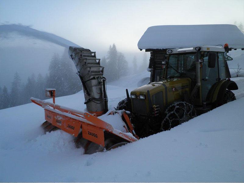 professionelle Schneeräumung